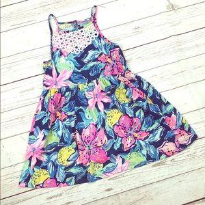 Lilly Pulitzer Girls Dress Medium 6-7
